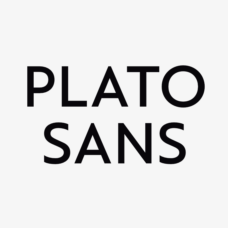 It Demonstrates The Seriousness Of A Newly Founded Design Agency To Shape Their Own Branding With Bespoke Typeface Plato Is Setting Out